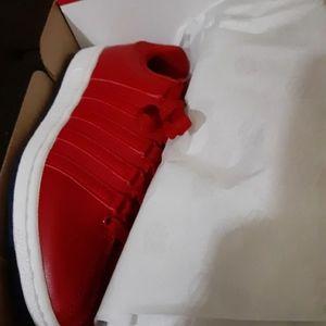 Red K-SWISS  SNEAKERS